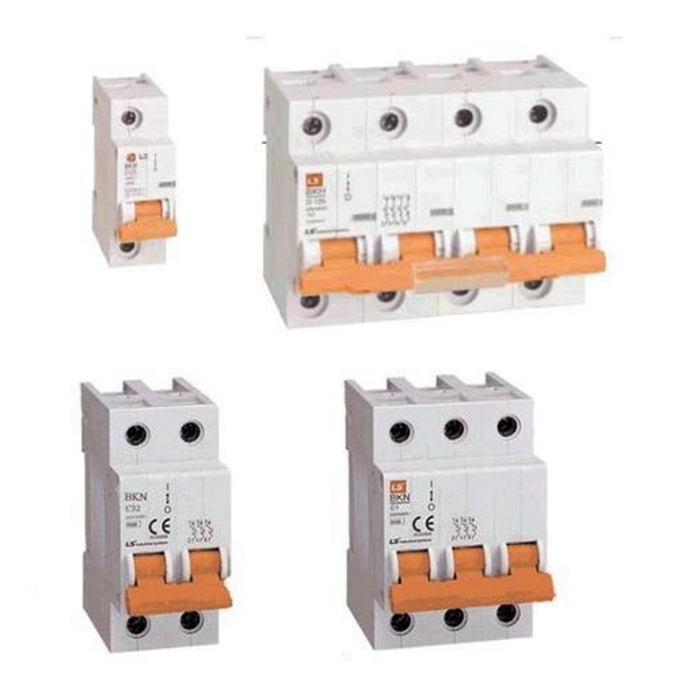 LS ELECTRIC (BKN) - 1A, 3 pole, D-curve, MCB