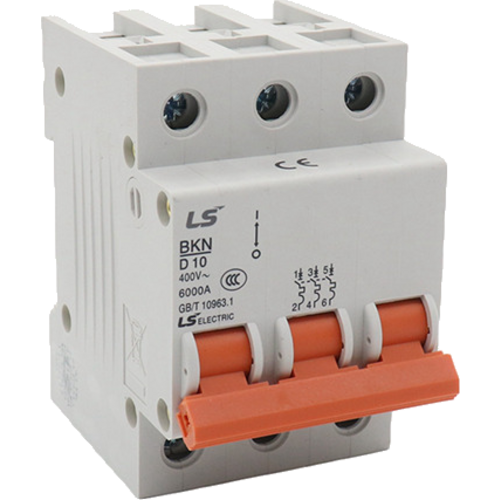 LS ELECTRIC (BKN) - 25A, 3 pole, D-curve, MCB