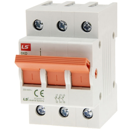 LS ELECTRIC (BKD) - 63A, 3 pole, Isolator-MCB