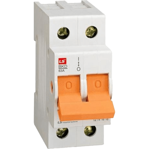LS ELECTRIC (BKD) - 40A, 2 pole, Isolator-MCB
