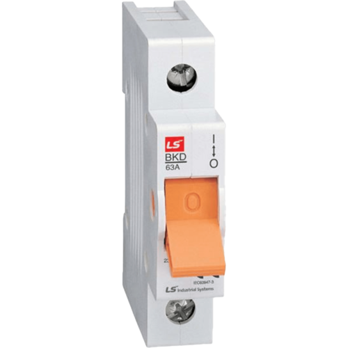 LS ELECTRIC (BKD) - 63A, 1 pole, Isolator-MCB