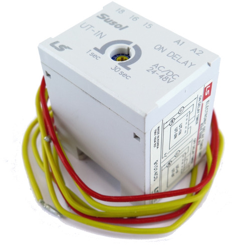 LS ELECTRIC (MC) - On Delay Timer, 24V AC/DC Coil, MC
