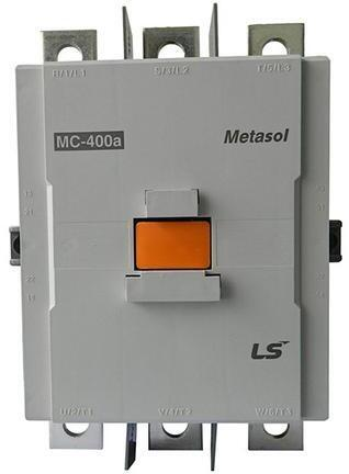 LS ELECTRIC (MC) - 265kW, 500A @ 400V AC, 240V AC/DC Coil, 3 pole, Magnetic Contactor