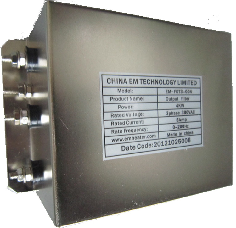EM HEATER (FOT) - 1.5kW, 5A, 3 phase, Output Filter