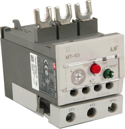 LS ELECTRIC (MT) - 46-65A Overload Relay for MC-50-MC-65A, MC